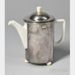 German Mid-century Silver-plated Coffeepot