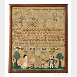 "Needlework Sampler ""Mary Shillaber,"""