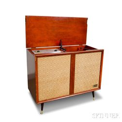 Zenith Extended Console and a Group of Records