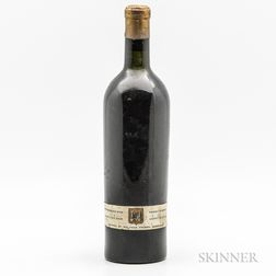 Chateau Pichon Lalande (believed to be) 1928, 1 bottle