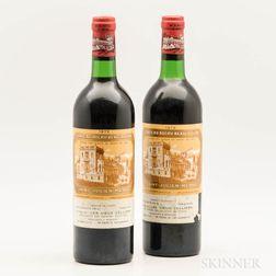 Chateau Ducru Beaucaillau 1975, 2 bottles