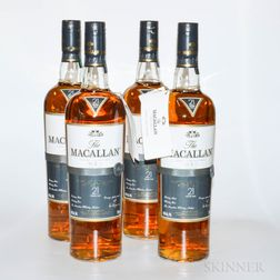Macallan Fine Oak 21 Years Old, 4 750ml bottles (owc)