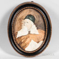 After Robert van Voerst (Flemish, 1597-1636/37), After Anthony van Dyck (Flemish, 1599-1641)      Portrait of Inigo Jones