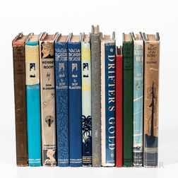 Blanding, Don (1894-1957) Twelve Titles, Three Signed Editions.