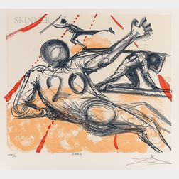 Salvador Dalí (Spanish, 1904-1989)      Sports  /A Suite of Two Prints