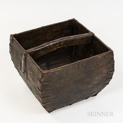 Metal-mounted Rice Basket