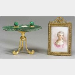 Two Miniature French Decorations