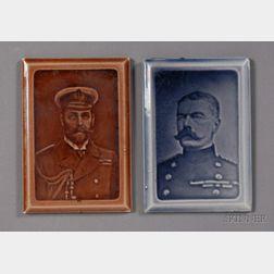 Two Portrait Tiles