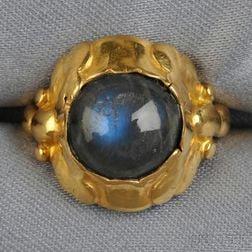 18kt Gold and Labradorite Ring, Georg Jensen