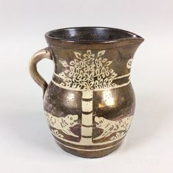 English Lustre Ceramic Pitcher