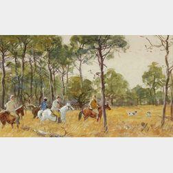Aiden Lassell Ripley (American, 1896-1969)      The Hunt