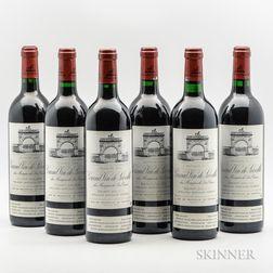 Chateau Leoville Las Cases 1995, 6 bottles