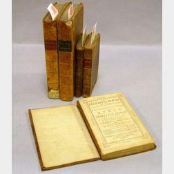 (Calf Bindings, Four Titles in Five Volumes)