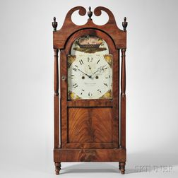 Jacob D. Custer, Mahogany Shelf Clock