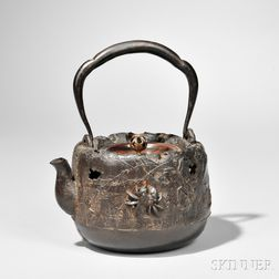 Iron and Bronze Kettle