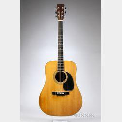 C.F. Martin & Co. D-28 Acoustic Guitar, 1969