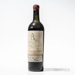 Chateau Latour 1928, 1 bottle