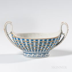 Wedgwood Tricolor Jasper Strapware Bowl