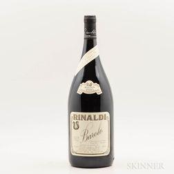Rinaldi Barolo Cannubi San Lorenzo Ravera 2001, 1 magnum