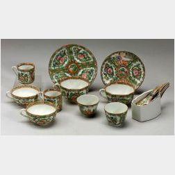 Large Lot of Rose Medallion Porcelain