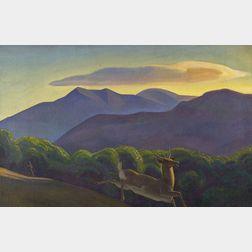Rockwell Kent (American, 1882-1971)    Sportsman's Delight
