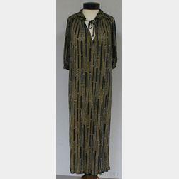 Missoni for Bloomingdale's Silk Elbow-length Sleeved Dress