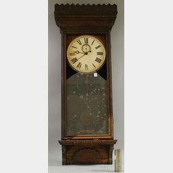 Oak Wall Regulator Clock