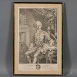 Christian Gottfried Schulze (Dresden, 1749-1819)       Prince Alexander Mikhailovitch Belosselsky (Russian, 1752-1809)