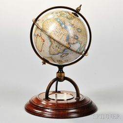 Samuel Emery 4-inch Terrestrial Globe