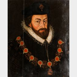 European School, 16th Century Style      Portrait of a Royal Man, Possibly Charles V