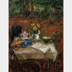 Ary Stillman (American, 1891-1967)      The Lover's Tea
