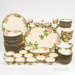 Franciscan Ware Pink Dogwood Pattern Dinner Service