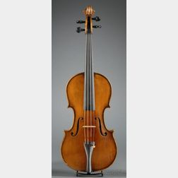 Modern Italian Violin, Claudio Gamberini, Bologna, c. 1920