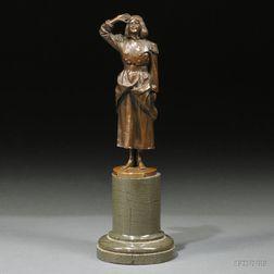 Bronze Depiction of Miss Dorothea Baird