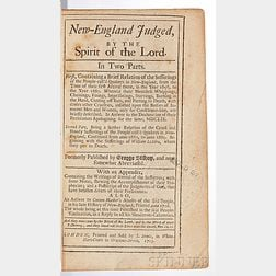 Bishop, George (d. 1668) New-England Judged, by the Spirit of the Lord.