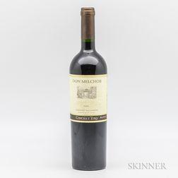 Don Melchor Cabernet Sauvignon 2001, 1 bottle