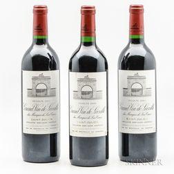 Chateau Leoville Las Cases 2000, 3 bottles