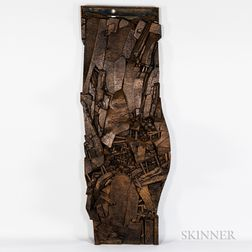 Peter Murphy Cornwall Tin Mine Woodcarving
