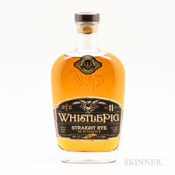 Whistle Pig 111 11 Years Old, 1 750ml bottle Spirits cannot be shipped. Please see http://bit.ly/sk-spirits for more info.