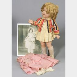 Composition Shirley Temple Doll with Extra Outfit