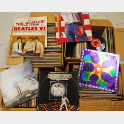 Collection of 420 Vinyl Records