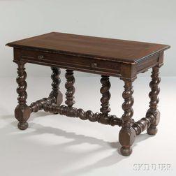Spanish Colonial Hardwood Table