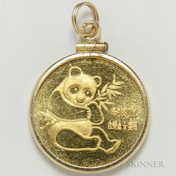 1982 Chinese 25 Yuan Gold Panda