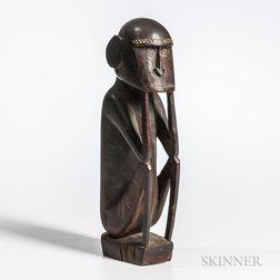 Massim Wood Figure,