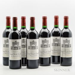 Chateau Leoville Las Cases 2003, 7 bottles