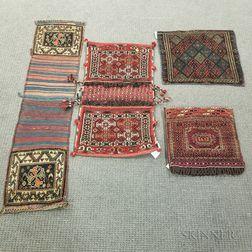 Four Oriental Saddlebags