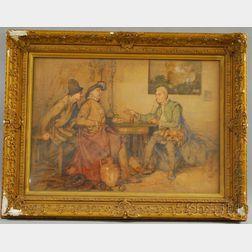 Elijah Albert Cox (British/American, 1876-1955)      Illustration/Odd Saying by Three Pilgrims
