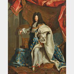 Studio of Hyacinthe Rigaud (French, 1659-1743)      Louis XIV
