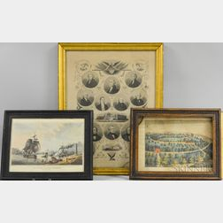 Three Framed Engravings