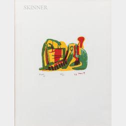 Henry Moore (British, 1898-1986)      Reclining Figure